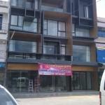 ม่านจีบทึบ+โปร่งร้านเสริมสวยคุณไหม ที่จันทบุรี